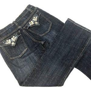Lena Straight Dark Wash Jeans
